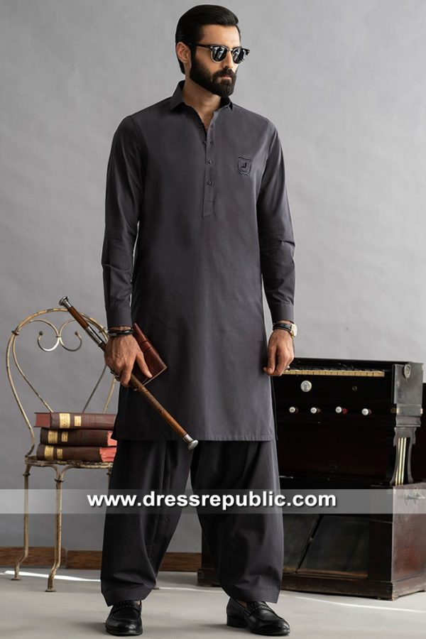 DRM5289 Plain Cotton Kurta For Men Buy in Toronto, Mississauga, Ontario, Canada