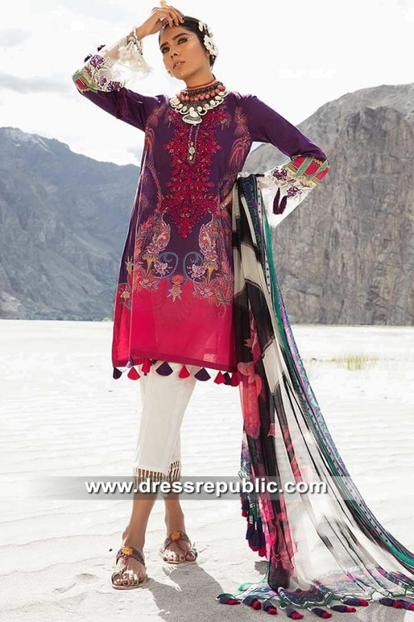 DRP8944 Maria B Mprints Eid 2019 Online Karachi, Lahore, Islamabad, Pakistan