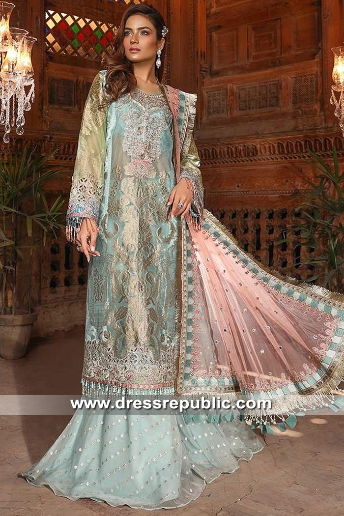 DRP9041 Maria B Mbroidered Festive Eid 2019 New York, New Jersey, California
