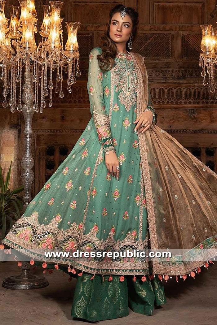 DRP9043 Maria B Mbroidered Eid 2019 Toronto, Mississauga, Vancouver, Calgary