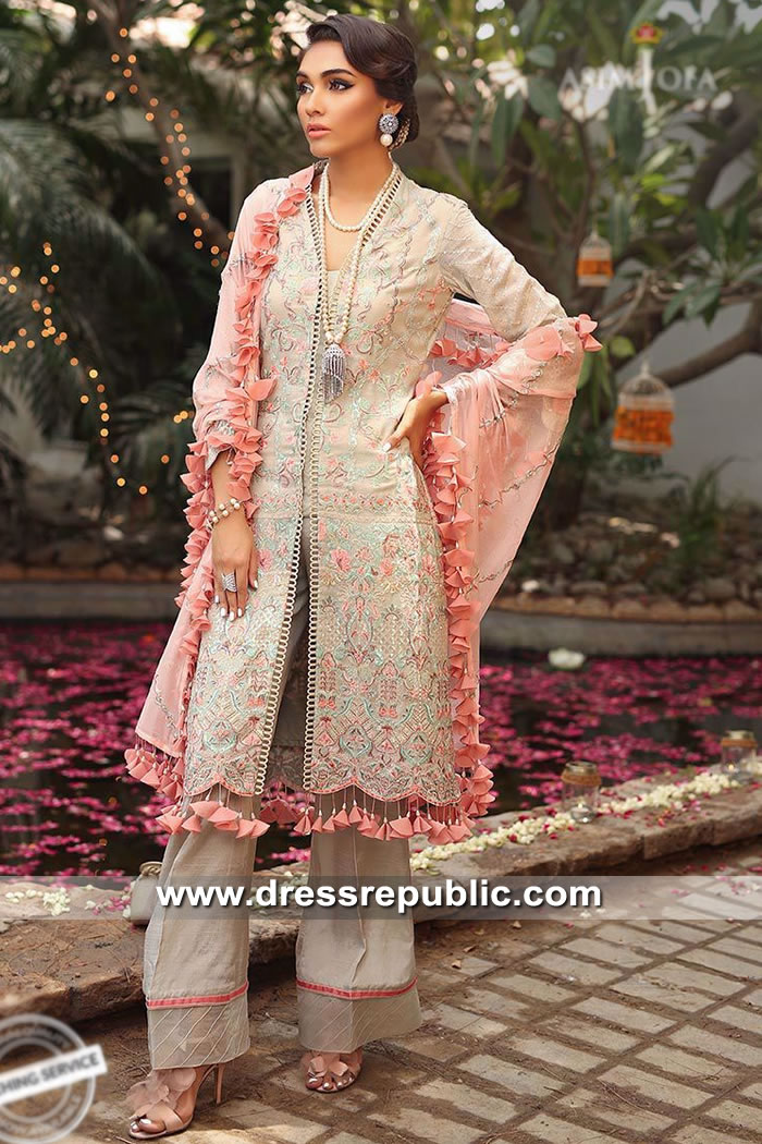 DRP9065 Asim Jofa Festive 2019 Karachi, Lahore, Islamabad, Faisalabad, Pakistan