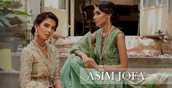 Asim Jofa Embroidered Collection 2019