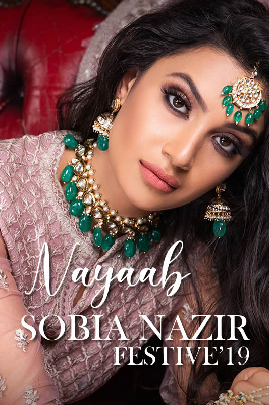 Sobia Nazir Nayaab Festive 2019 Collection