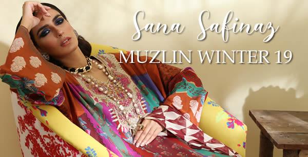 Sana Safinaz Muzlin Winter 19