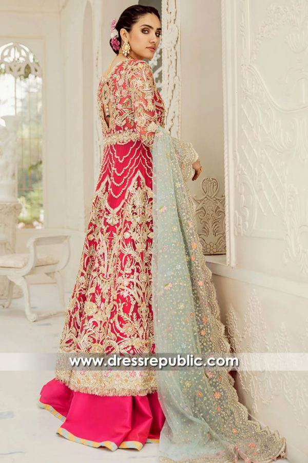 DR15713b Pakistani Bridal Lehenga 2020 London, Manchester, Birmingham, UK
