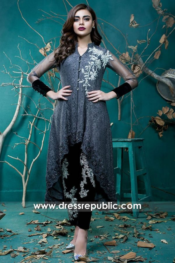 DR15735 Pakistani Designer Party Wears 2020 Green Street, Southall, Leeds, UK