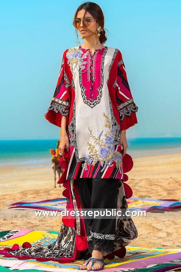 DRP1052 Sana Safinaz Muzlin 2020 Lawn Suits Wholesalers USA, Canada