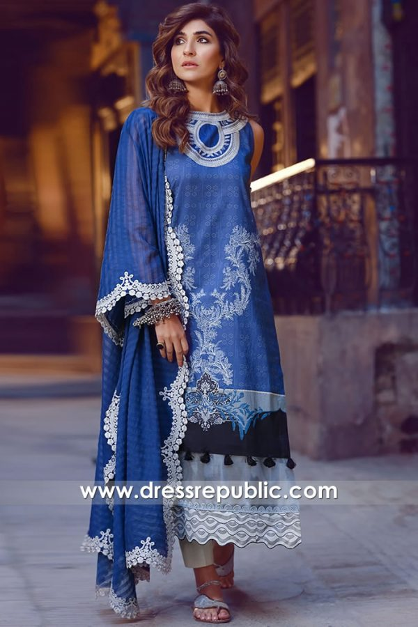 DRP1147 Shiza Hassan Lawn 2020 Buy Online Southall, Green Street, Wembley, UK