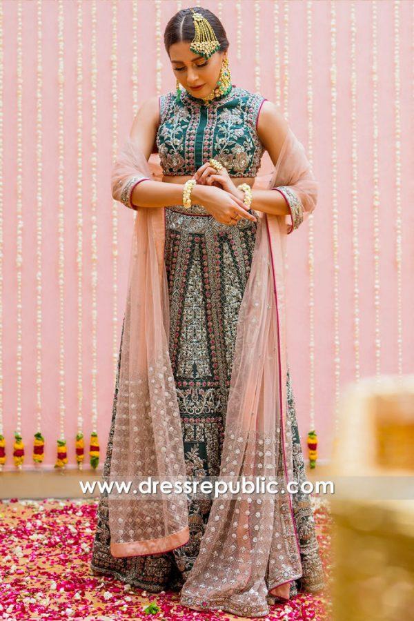 DR15814 Wedding Lehenga Choli For Summer 2020 Buy in California, USA