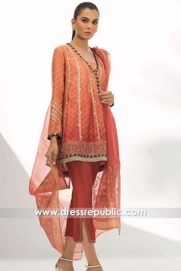 DR15851 Pakistani Designer Party Wear 2020 Oklahoma City, Memphis, Louisville