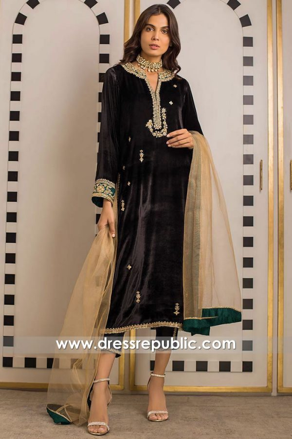 DR15856 Pakistani Designer Party Wear 2020 Las Vegas, Oklahoma City, Louisville