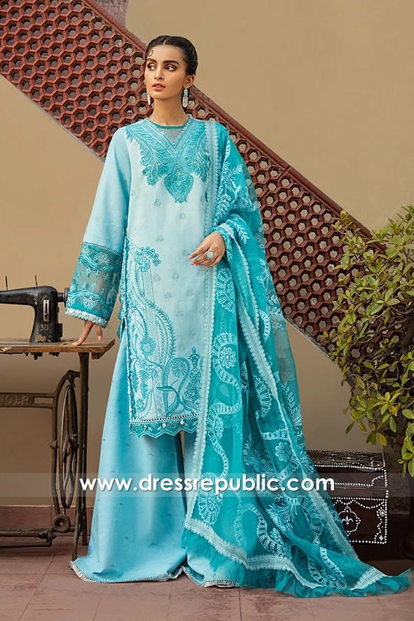 DRP1701 Pakistani Lawn Shalwar Kameez Suits With Stitching Price Buy Online