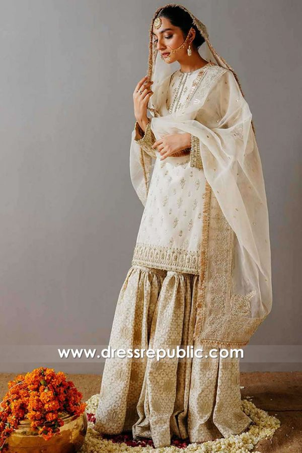 DR15926 Latest 2020 Bridal Gharara, Wedding Gharara Online USA, UK, Canada